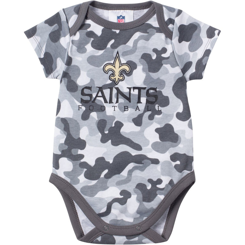 Baby Saints Fan Camo Onesie