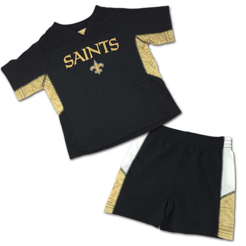 Saints Fan Touchdown Shorts Set
