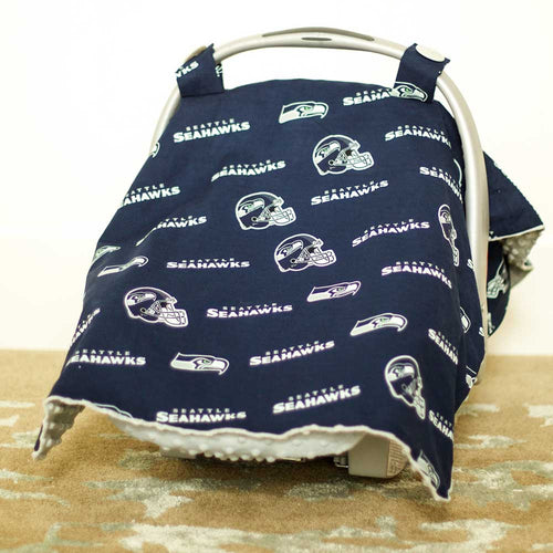 Seattle Seahawks Car Seat Canopy