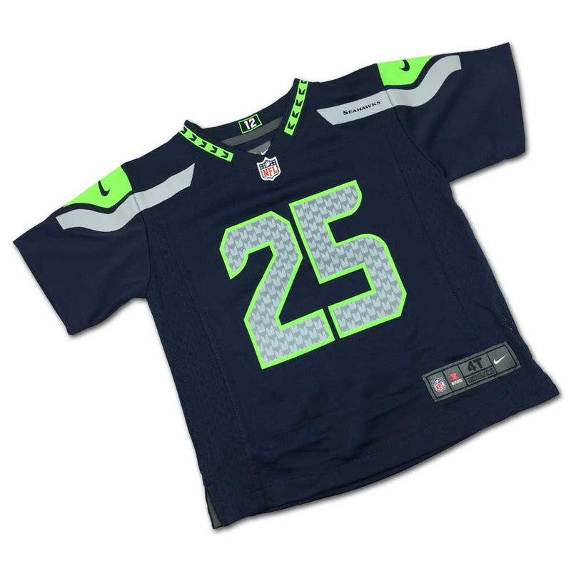 Richard Sherman Seahawks Kids Jersey (Size_2T-4T)