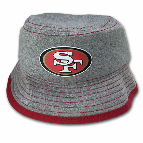 49ers Gray Jersey Bucket Hat