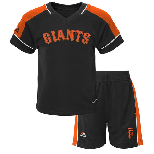 Giants Baby Classic Shirt and Short Set