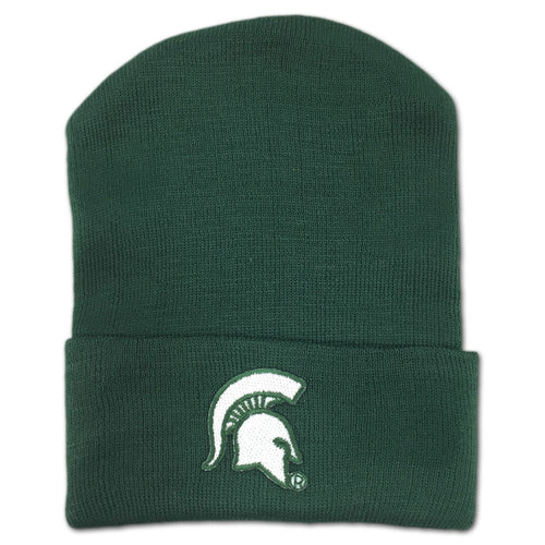 Michigan State Newborn Knit Cap