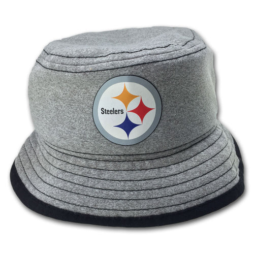 Steelers Gray Jersey Bucket Hat
