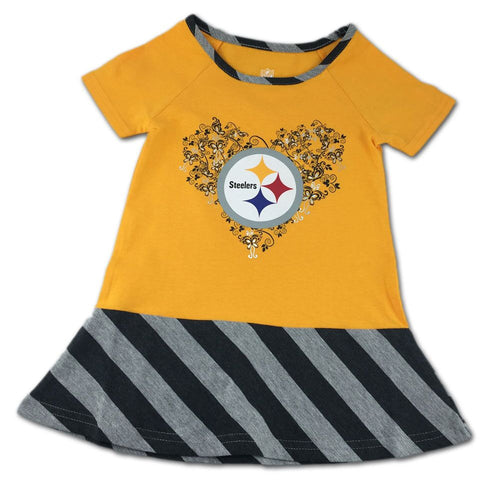 Steelers & Butterflies Dress