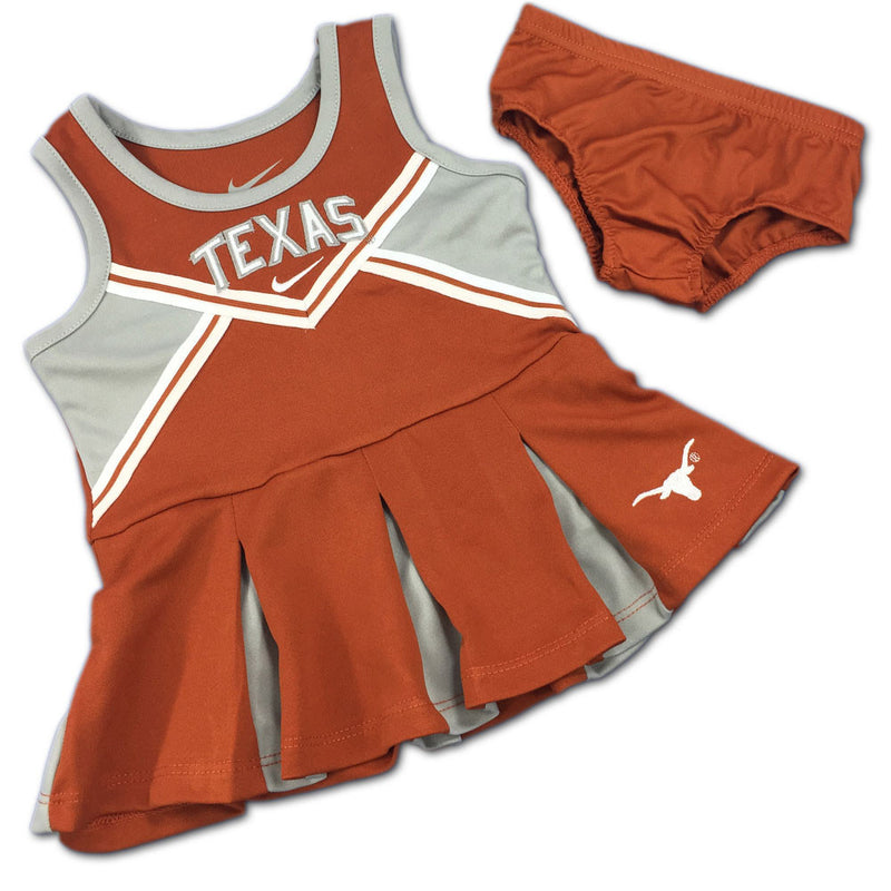 Texas Nike Toddler Cheerleader Outfit