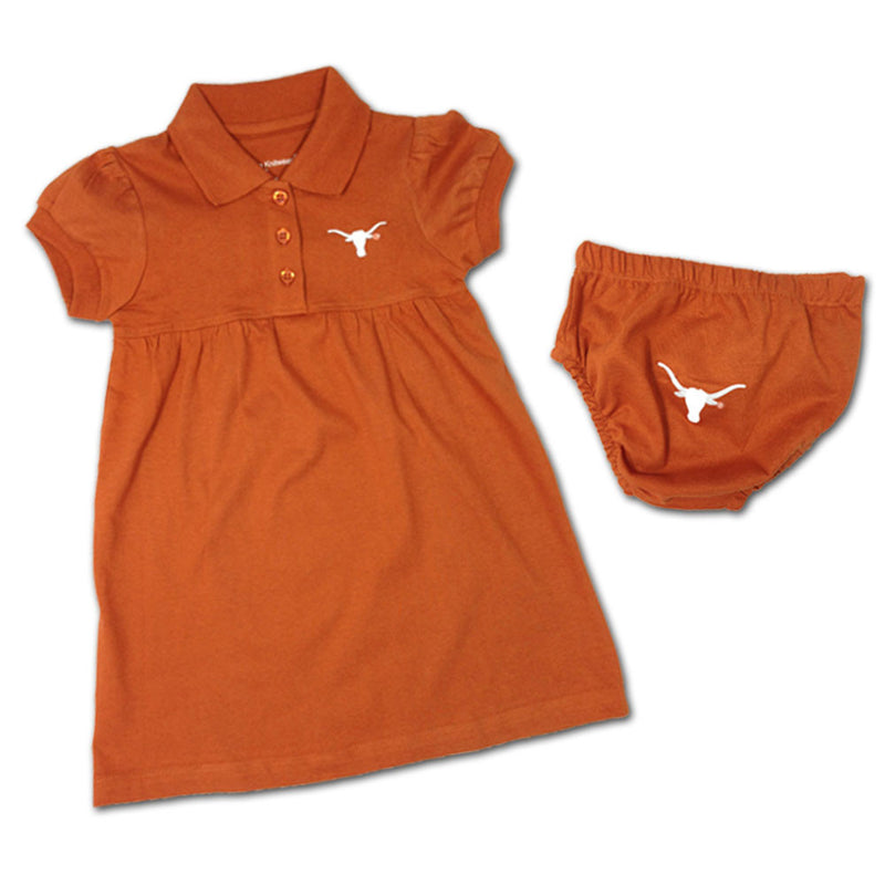 Texas Polo Dress with Embroidered Bloomers