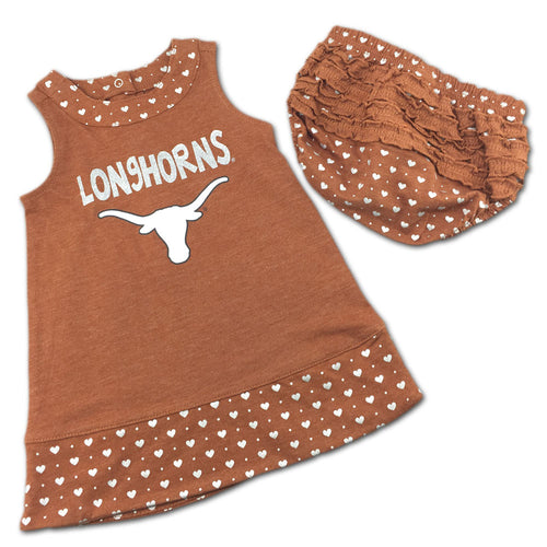 Texas Spirited Heart Dress with Bloomers
