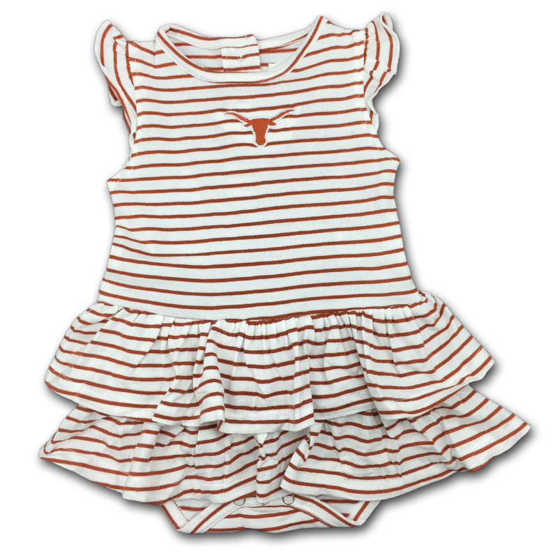 Texas Stripes 'n Ruffles Skirted Romper