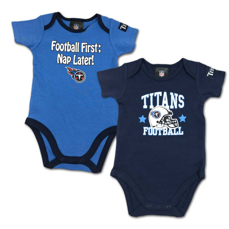 "Titans Baby ""Nap Later!"" Bodysuit 2-Pack"
