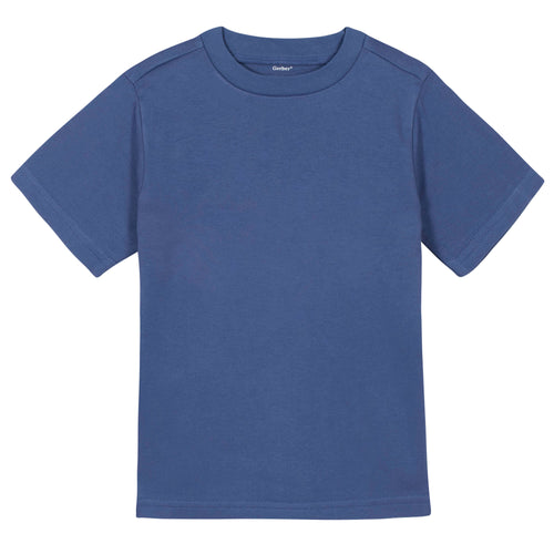 Boys Royal Blue Classic Short Sleeve Tee Shirt