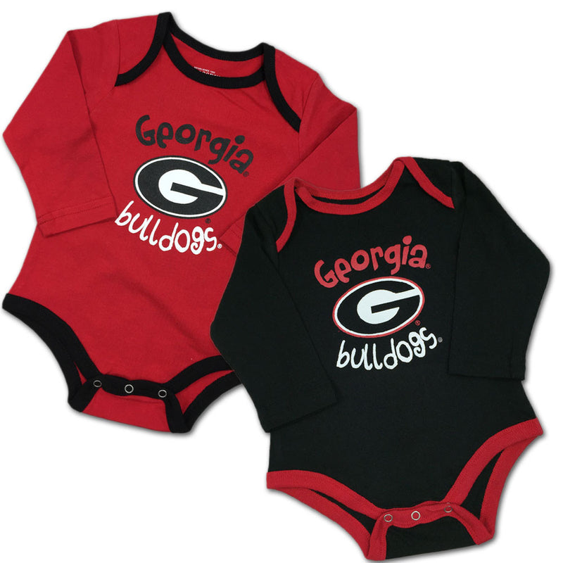 Georgia Fan Bodysuit 2-Pack