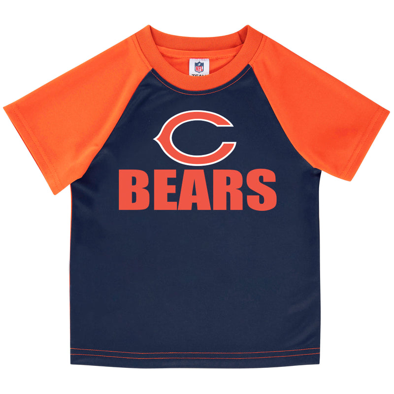 Chicago Bears Boys Short Sleeve Tee