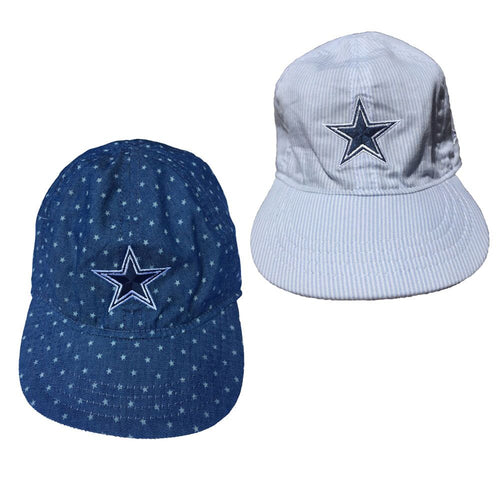 Cowboys Baby Reversible Cap (Blue)