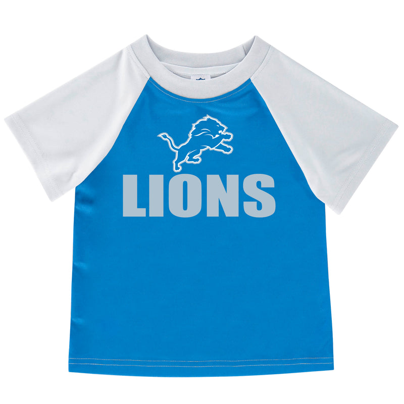 Detroit Lions Boys Short Sleeve Tee
