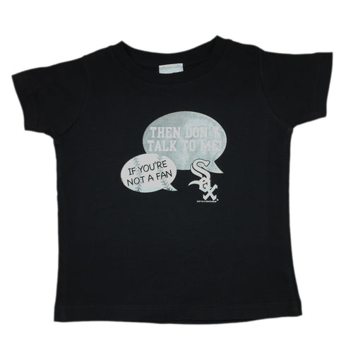 """Don't Talk To Me"" White Sox Tee"