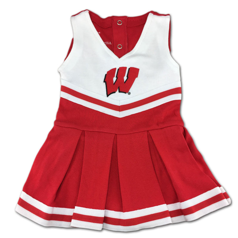 Wisconsin Infant Cotton Cheerleader Dress