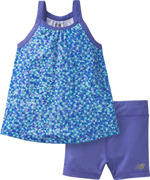 New Balance 2-Piece Girls  Tank and Short Set