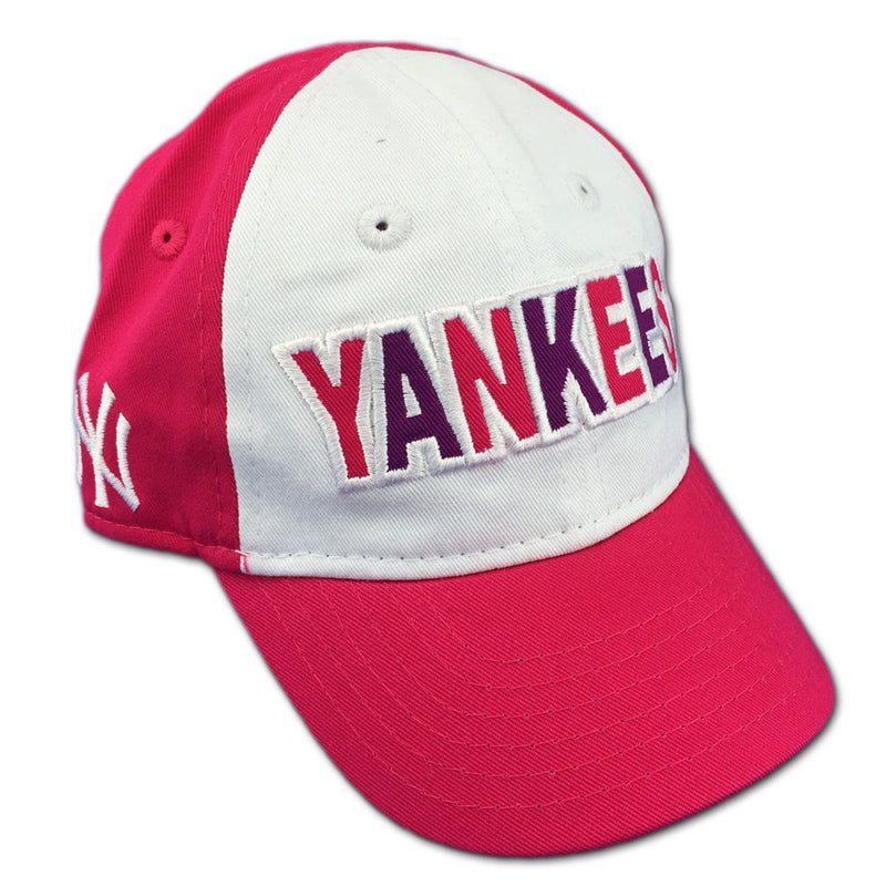 Yankees Girl Pink Infant Baseball Cap