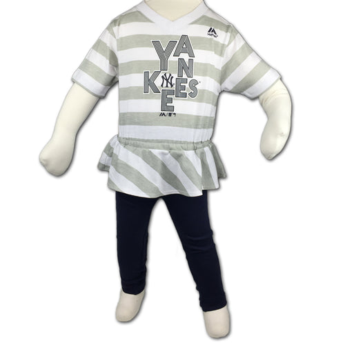 New York Yankees Infant Girl Top & Capri Outfit