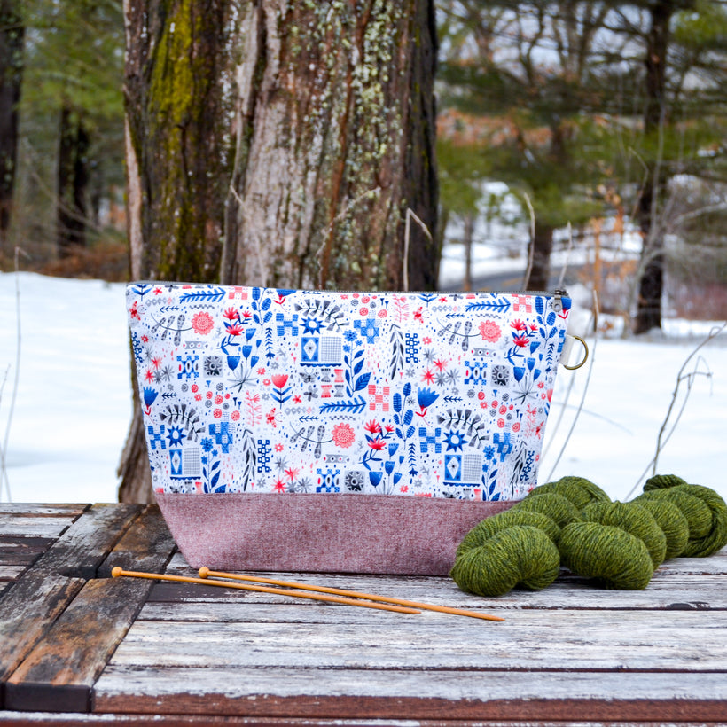 Woodsy and Wild Project Bags