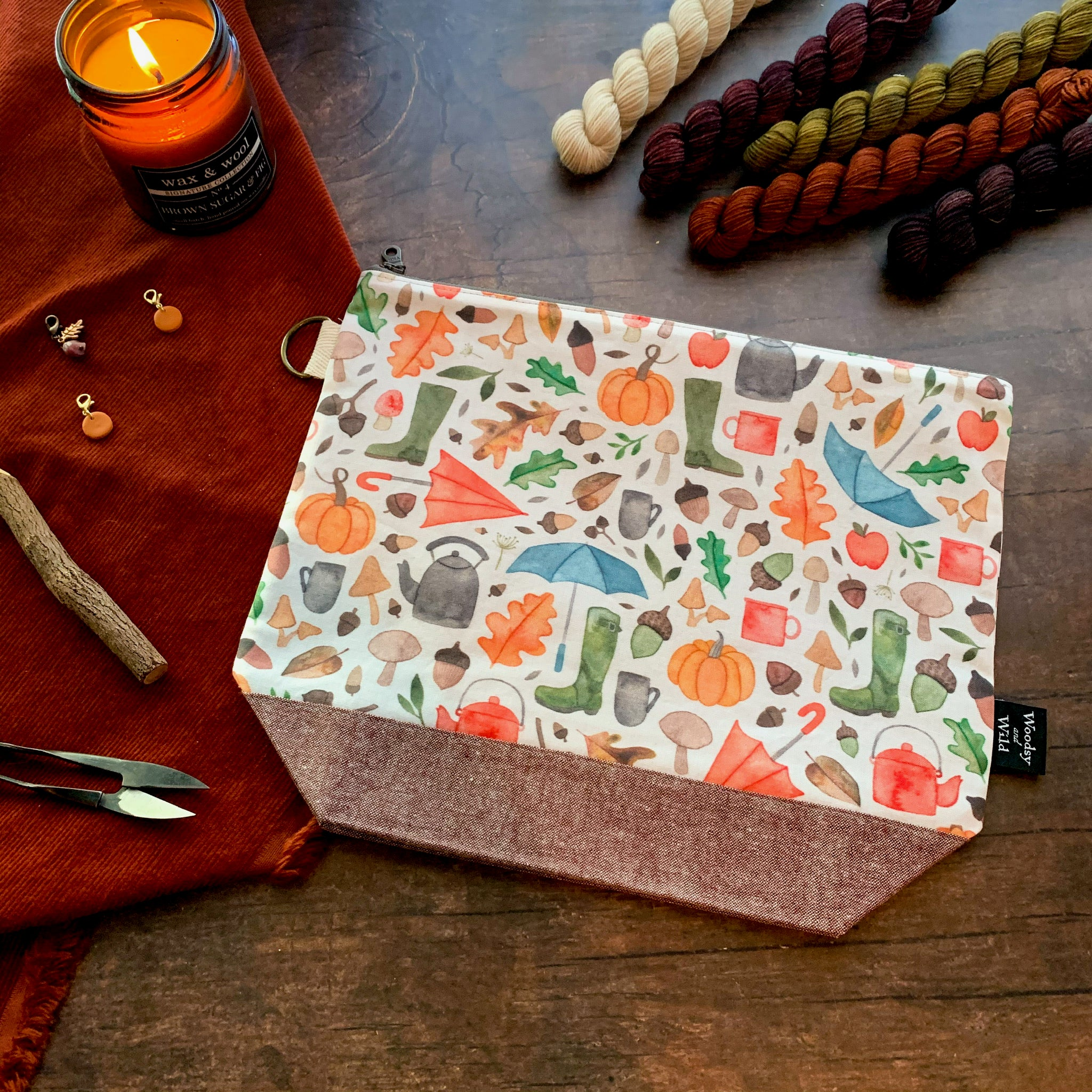 Autumn Scatter Project Bag