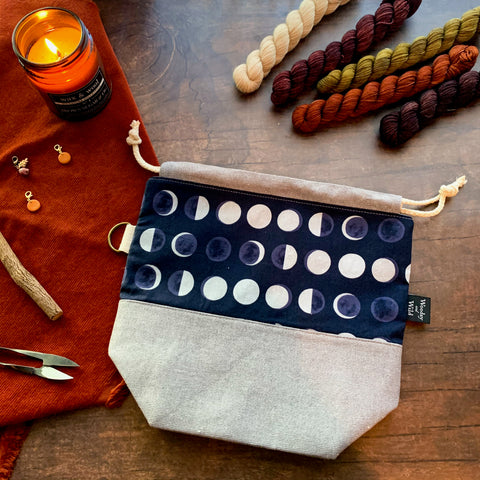 Lunar Phases Project Bag
