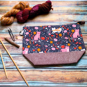 Pumpkin Patch Project Bag