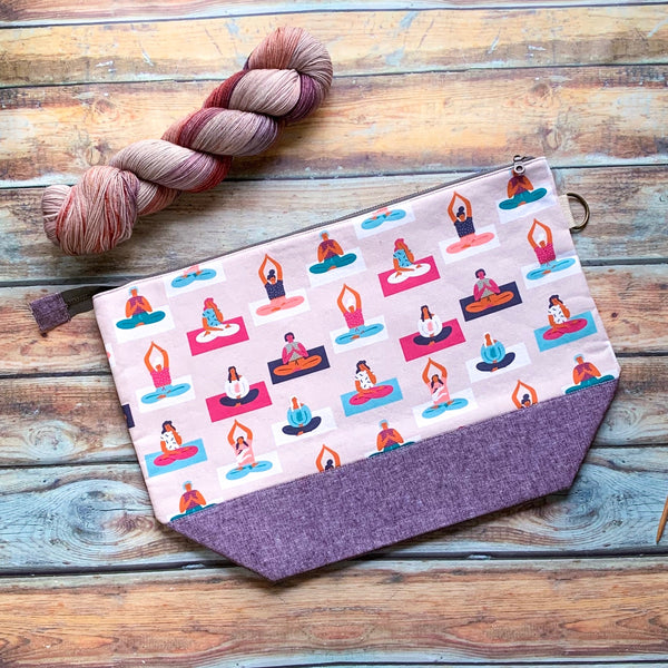 Yoga Class Project Bag