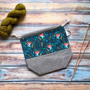 Forest Foxes Project Bag