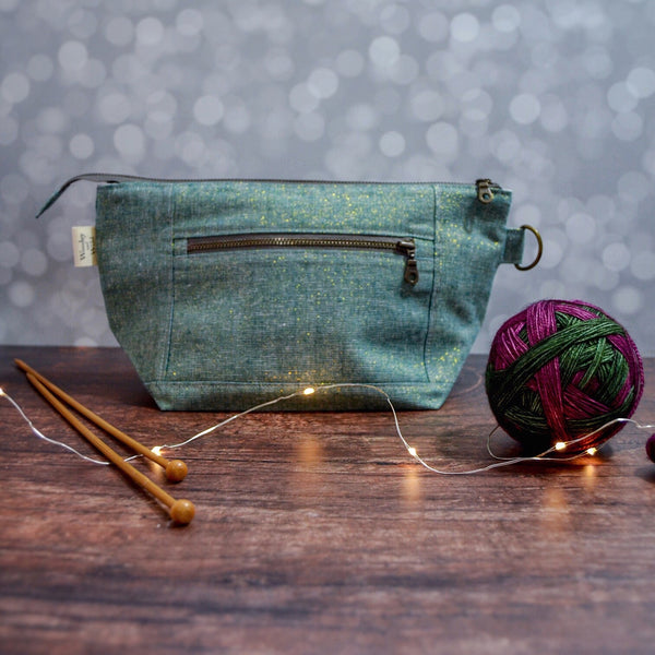 Emerald Sparkle Sapling Bag- Woodsy and Wild Sapling Bag
