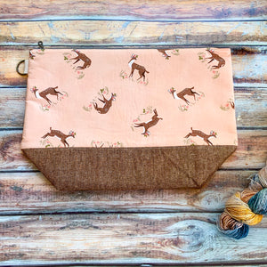 Summer Fawns Project Bag