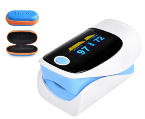 PulseChecker - Portable Digital Finger Oximeter - DealsMart Online