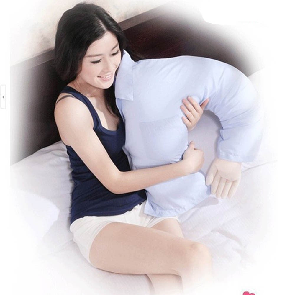 CuddleBuddy - Funny Ergonomic Boyfriend Pillow - DealsMart Online