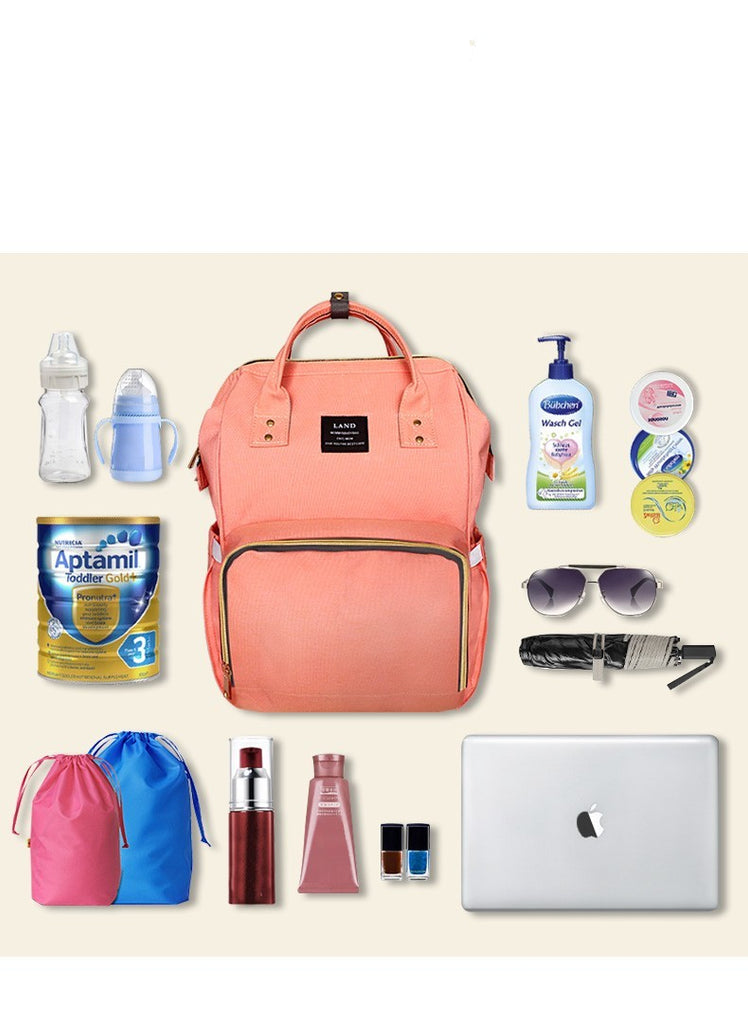 MommyPack - Stylish Baby Necessities Bag - DealsMart Online