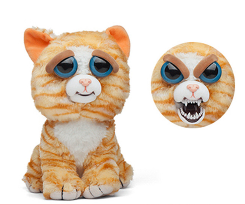 Feisty Pets - Expression Changing Stuffed Animals - DealsMart Online