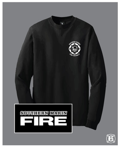SOM Black Long Sleeve Tee