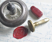 antique wax seal stamp