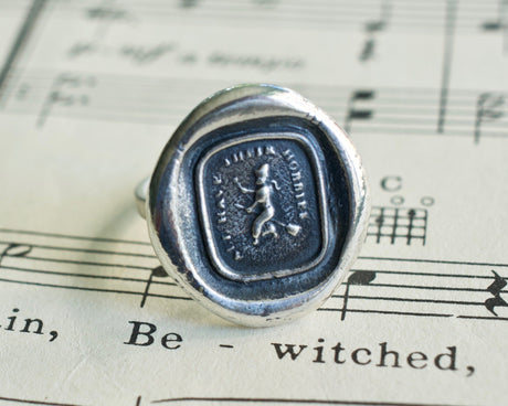 witch wax seal ring