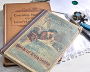 Victorian Letter Writer book of Etiquette