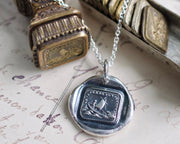 sailboat wax seal jewelry