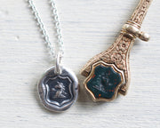 unicorn wax seal jewelry
