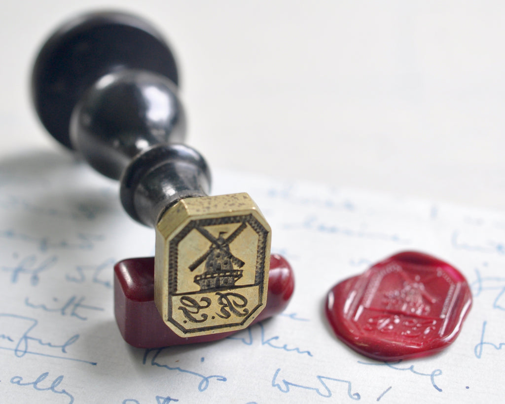 windmill wax seal stamp