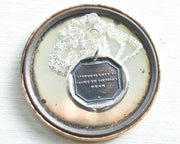 though lost to sight necklace
