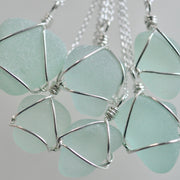 sea foam sea glass jewelry