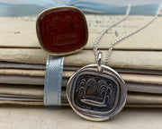 weeping willow wax seal jewelry