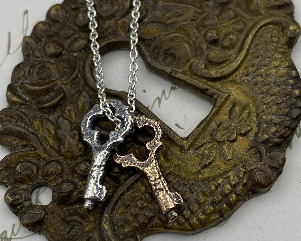skeleton key jewelry