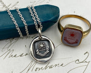 sun wax seal jewelry