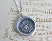 star wax seal pendant