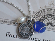 follow your inner compass necklace
